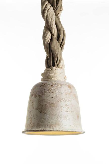 Miatu lamp design handmade by maioliche originali deruta