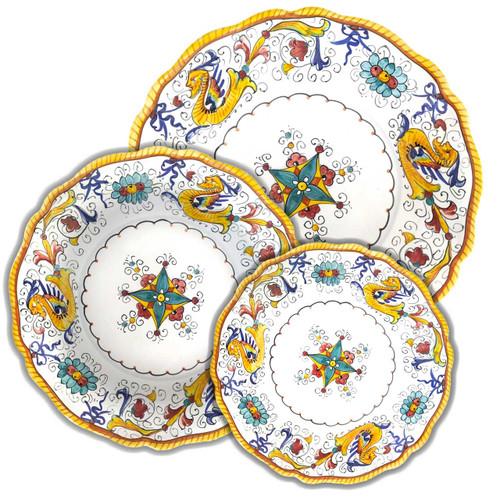 Italian ceramic Raffaellesco Sim edge