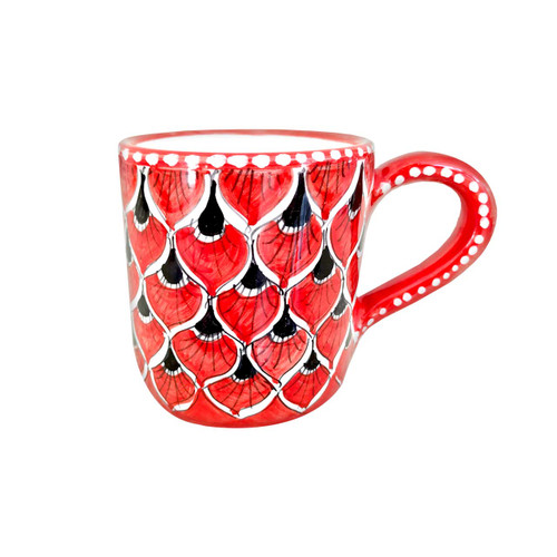 Deruta ceramic coffe mug. Ceramics shop on line
