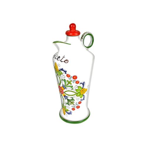 Lateral Side vinegar bottle of ceramic