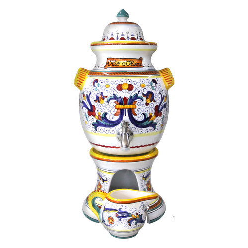 olive oil dispensers ceramic Ricco Deruta