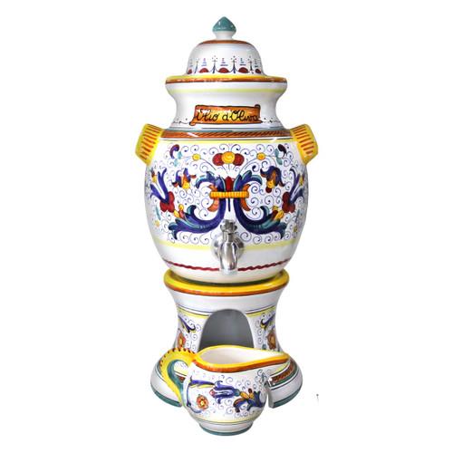 olive oil dispensers ceramic Ricco Deruta