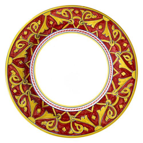 Italian ceramic plates