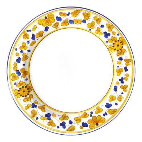 Italian ceramic plates Calligrafico