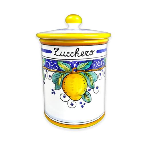 Ceramic jar sugar Alcantara