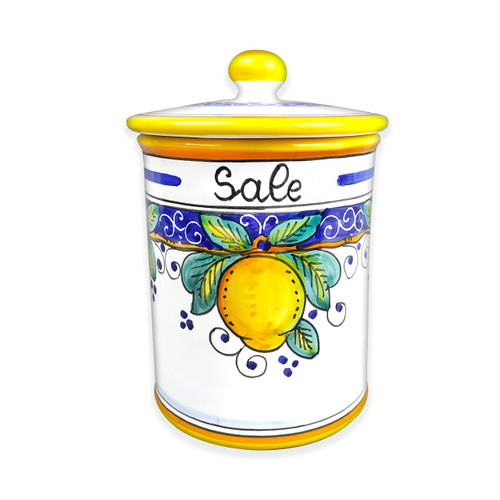 Ceramic Jar Salt Alcantara
