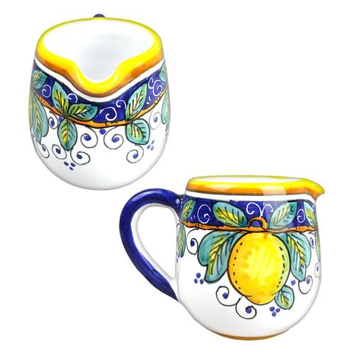 Pottery creamer Alcantara