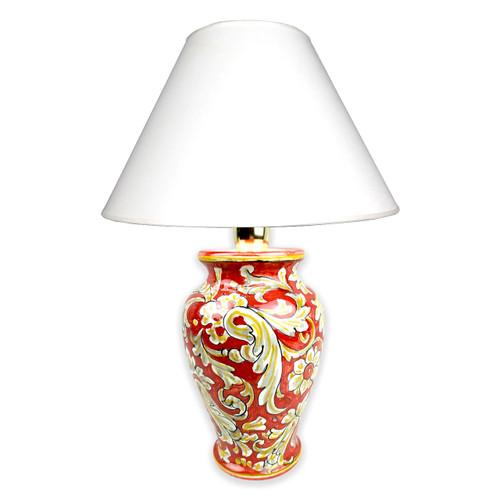 Pottery bedside lamps Tony
