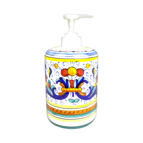 Ricco Deruta pottery soap dispenser