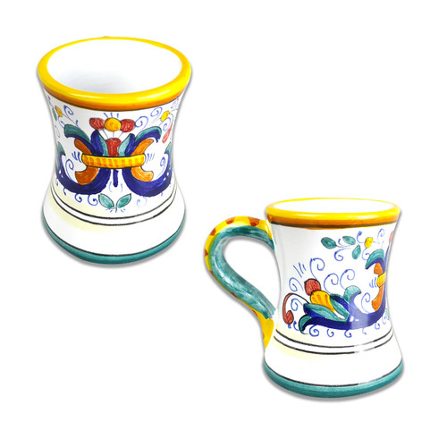 Deruta ceramic limoncello Cups