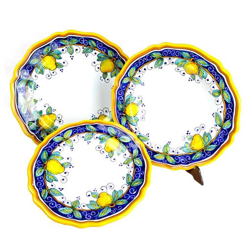 Italain pottery Alcantara Table Set