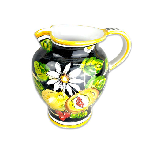Italian pottery Pitcher- Pottery outlet on line