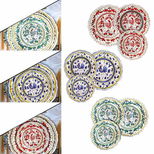 Mod Ceramics Tableware Orvieto Decoration