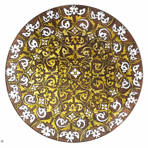 Italy pottery plates hand painted