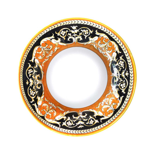 Italian Pottery Pasta Soup Plate Luxury collection.