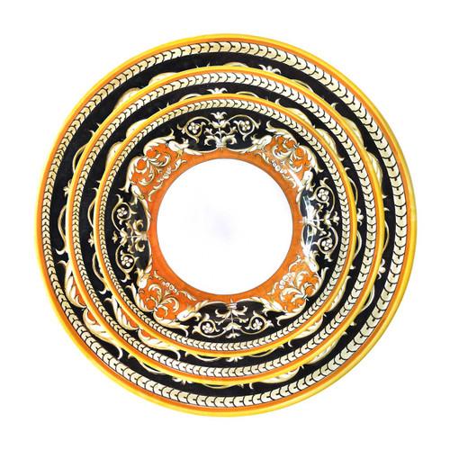 Italian Luxury Table Set handmade in Deruta by Mod Ceramics