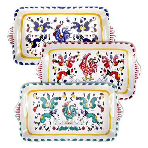 Italian-Trays-Of-Ceramics-handpainted-Made-in-Italy