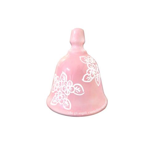 Ceramic Christening favors - Bell