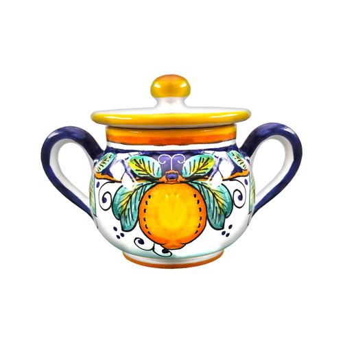 Sugar Bowl Alcantara-Italian Pottery