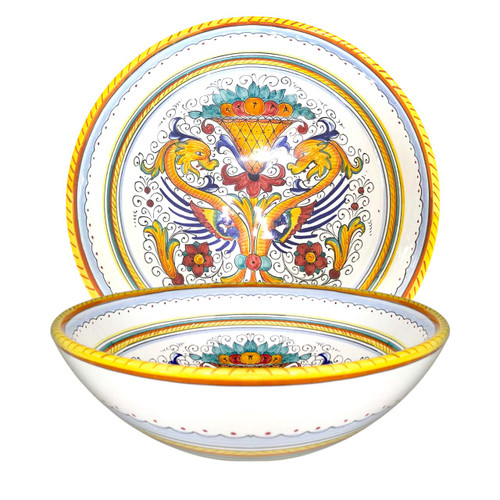Deruta ceramic Raffaellesco Bowl