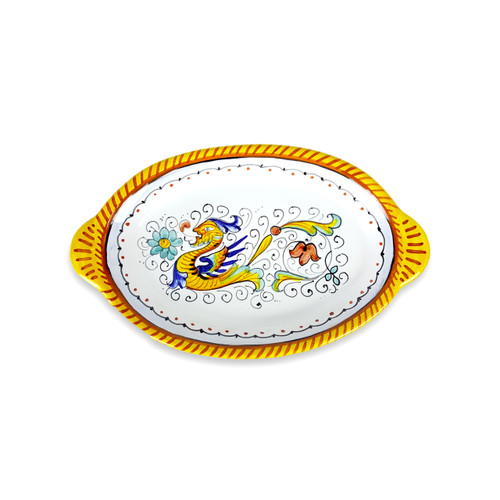 Oval Tray 9.0 Inches Raffaellesco