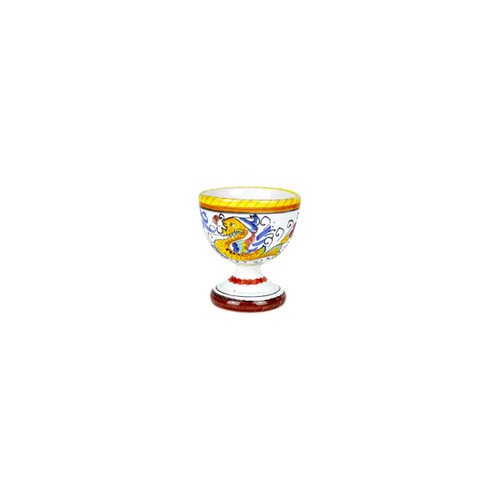 Italian ceramics Egg dish Raffaellesco