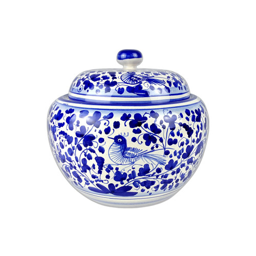Arabesco Blu Jar