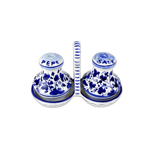 Salt and Pepper Arabesco Blu