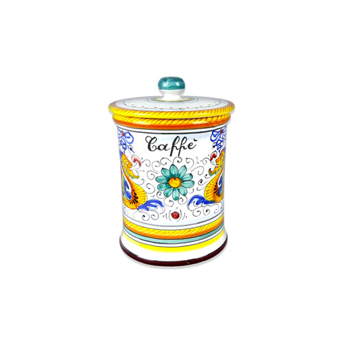 Deruta Coffe Jar Raffaellesco