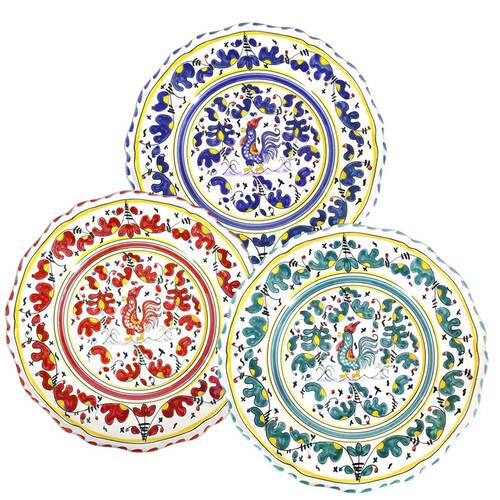 Ceramics-Tableware-From-Italy-Dinner-Plate-Orvietano