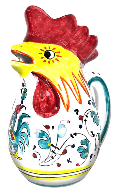 "Rooster Pitcher ""Galletto"" Green"