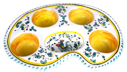 "Egg Tray ""Galletto"" Verde"