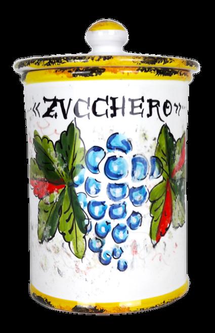 Sugar Jar ITALIAN CERAMICS