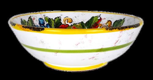 Italian ceramic pasta Bowl