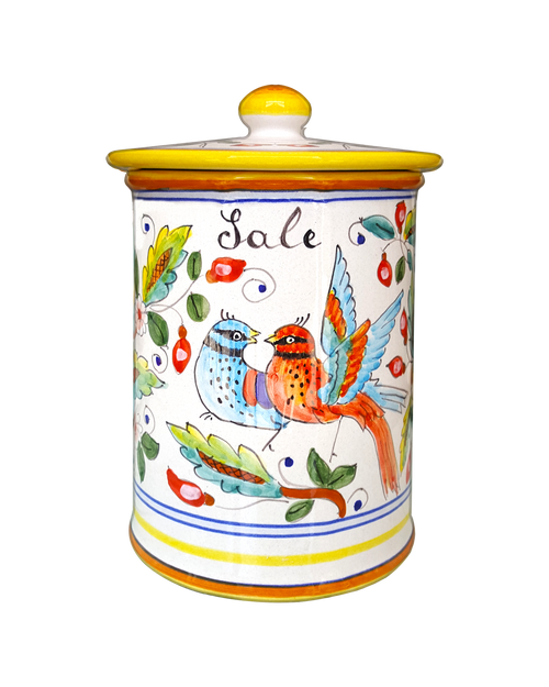 Salt Jar Love Birds
