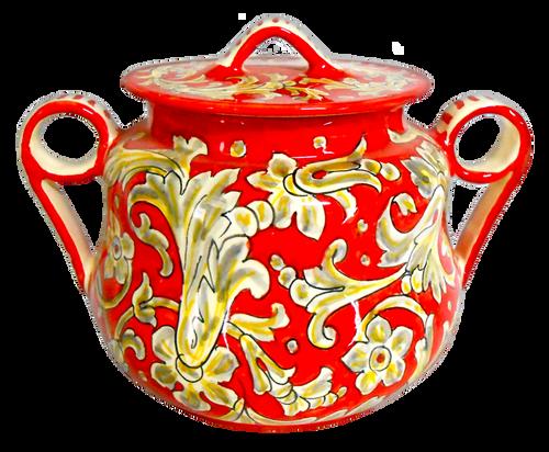 Ceramic Jar Tony decoration