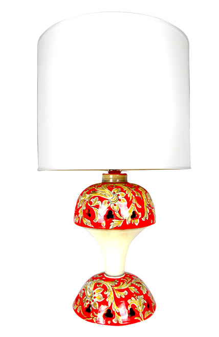 Foglie Rosse Tony Lamp (Lampshade not included)