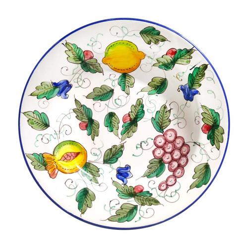 Deruta-Pottery-Handmade-Pottery-Tableware-Soup-Plate
