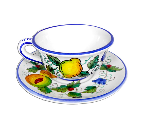 Cup and Saucer Frutta Piena