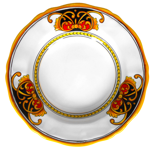 Pasta Soup Plate Rome collection Handpainted In Italy