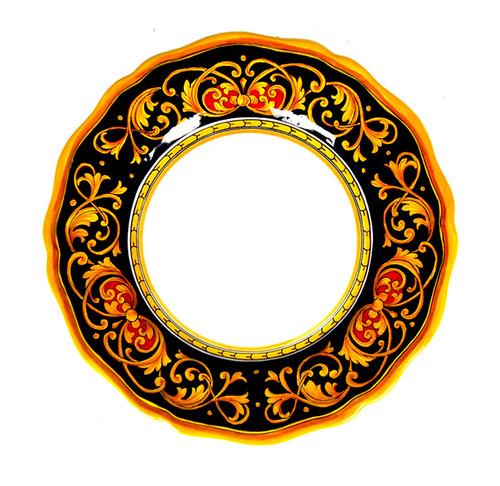 Luxury ceramic dinner plate Rome