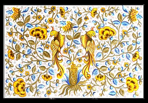 Panel Uccello del Paradiso