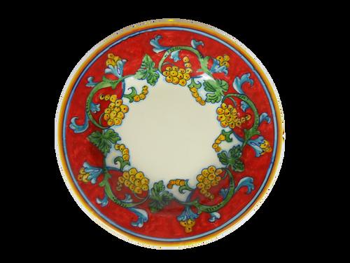 CORALLO SEMPLIFICATO Plate Pasta Soup Smooth Edge