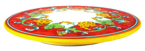 Corallo cake tray hand painted