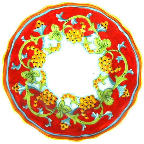 CORALLO SEMPLIFICATO Plate Dinner Sim Edge