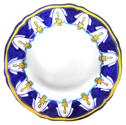 IRIS BLU  Pasta/ Soup Plate