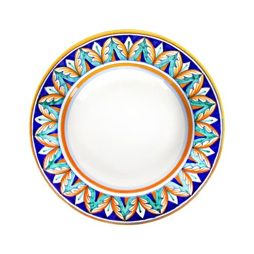 Ceramic  soup plate deruta