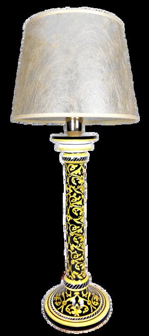Damasco Nero Lamp 48 cm (Lampshade not included)