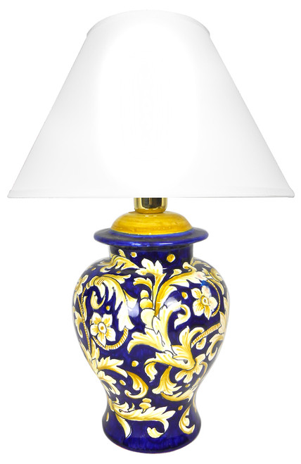 Tony background blue Lamp (Lampshade not included)