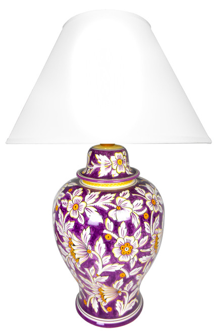 Floreale Viola Lamp (Lampshade not included)